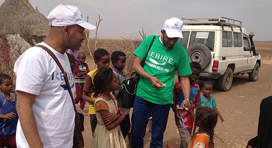 kebire trust volunteer